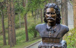 Wild Bill Statue in Deadwood, SD
