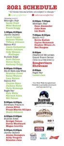 wild west songwriters fest
