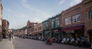 Parking And Transportation in Deadwood