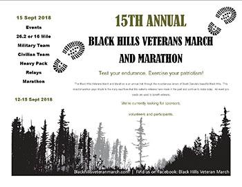 Black Hills Veteran March 2018