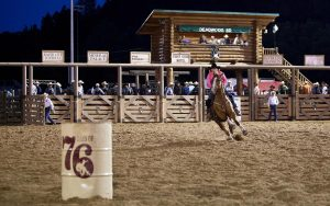 Each year a rodeo takes place showcasing the best cowboys