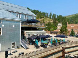 Deadwood Mountain Grand Holiday Inn Overview Patio Sportsbook