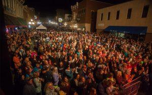 Crowd at Kool Deadwood Nites