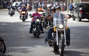 Legends Ride Event on Historic Main Street