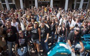 Legends Ride Crowd