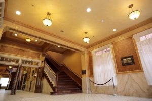 Historic Homestake Opera House lobby