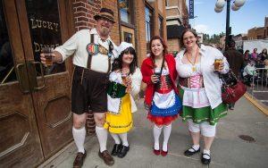 Oktoberfest Event Attendees