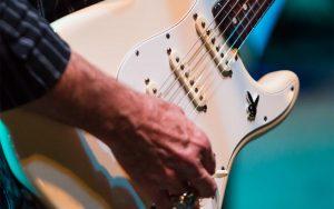 Songwriters Festival Guitar Closeup