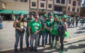 St Patricks Event Attendees