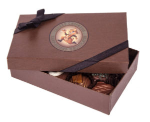 Chubby Chipmunk Chocolates Truffles Box