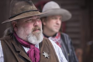 Patrol the streets of Historic Deadwood with the town's first Marshal.