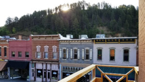 View of Main Street from Balcony