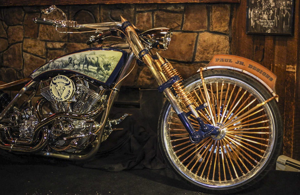Buffalo Chip Inspired Bike Revealed At Saloon No 10