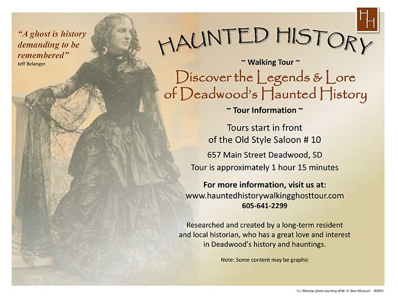 Haunted History Walking Ghost Tour