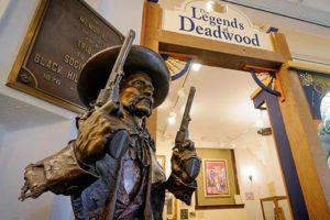 Historic Deadwood Statue