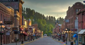 Historic Main Street Deadwood South Dakota