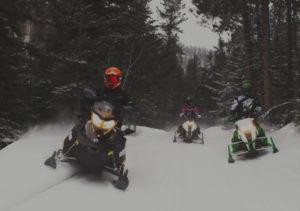 Snowmobiling Deadwood
